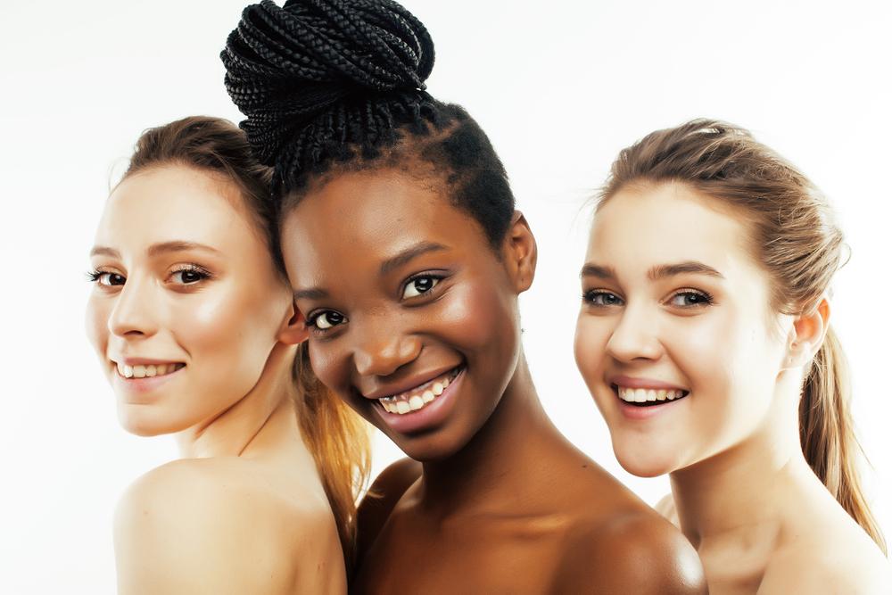 Verschillende huidtypes