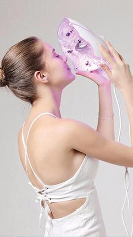 Gelaatsverzorging moisturize met led licht therapie bij The Wellness Room