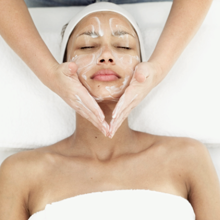 Antistress met facial spa