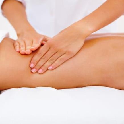 Lymfedrainage massage