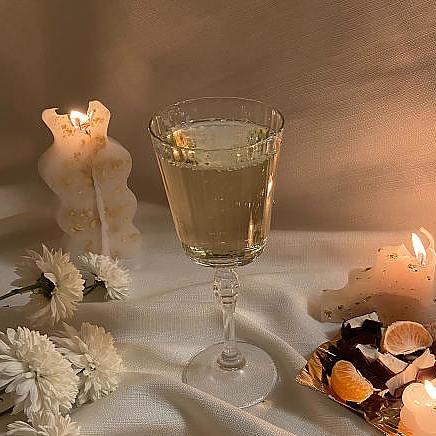 Duomassage champagne lounge